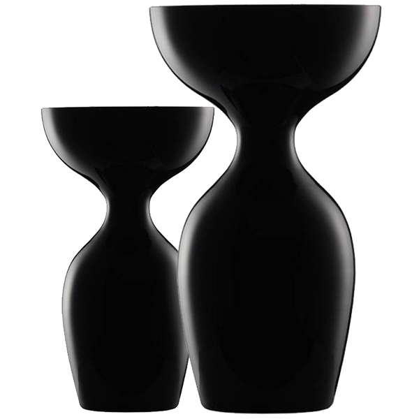 Blanchet Viniti crachoirs à vin en verre noir