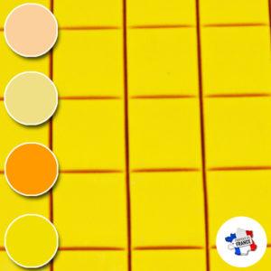 Blanchet Viniti cires modernes jaunes-orange