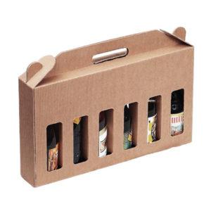 Blanchet Viniti carton kraft 6 bouteilles recto