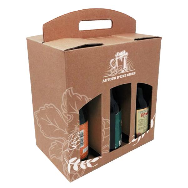 Blanchet Viniti coffret carton bières Steinie