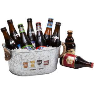 Blanchet Viniti seau à bières ovale plein