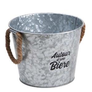 Blanchet Viniti seau en zinc