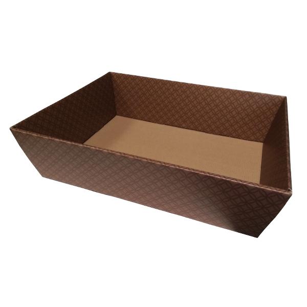 Blanchet Viniti corbeille carton effet cuir